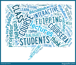 Flipped classroom content analysis